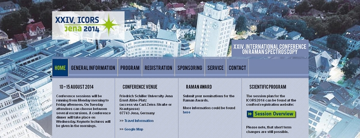 JEZT _ Webseite der ICORS Konferenz 2014 in Jena